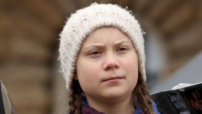 El trío amoroso entre Greta Thunberg, el cambio climático y el Capitalismo en Madrid