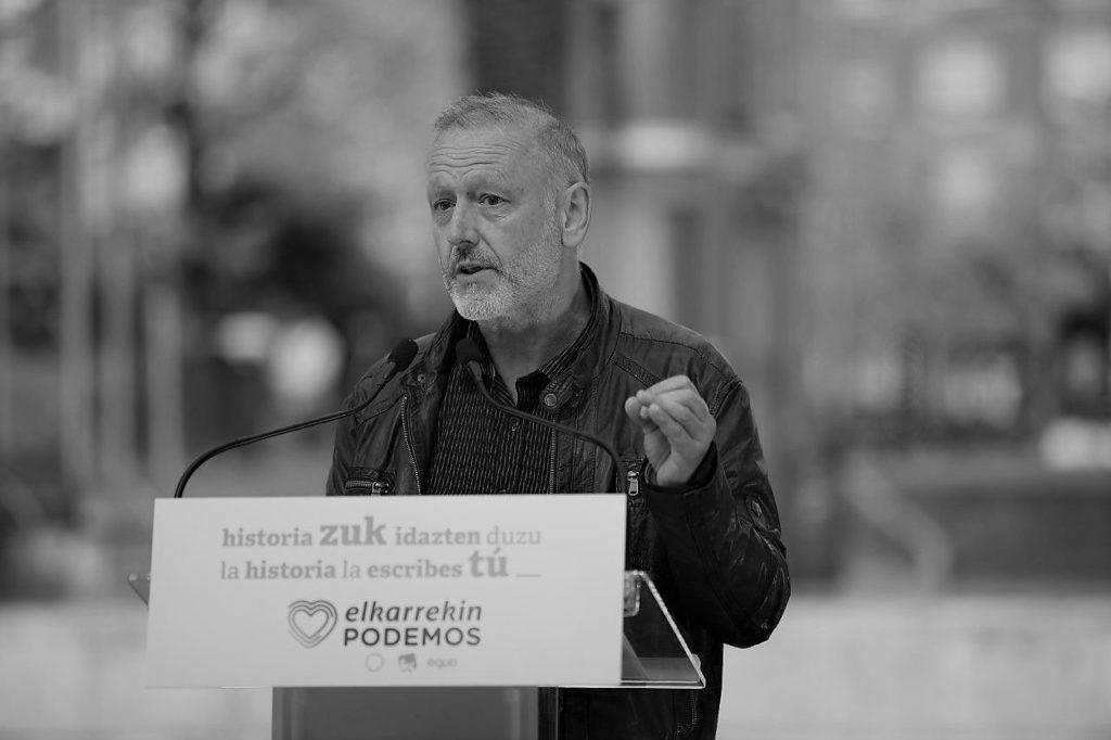 Roberto Uriarte, diputado de Unidas Podemos