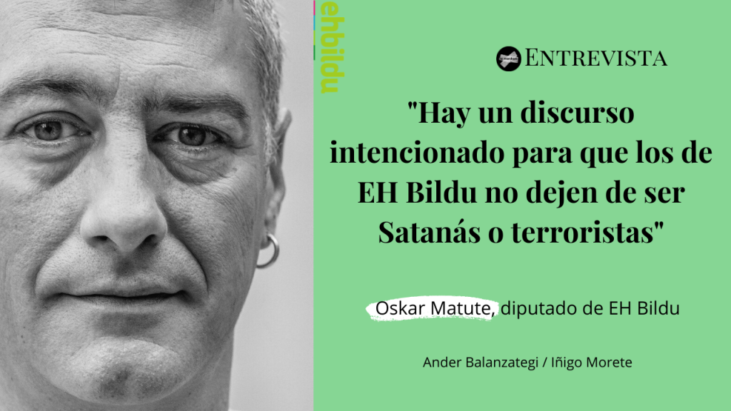 Entrevista a Oskar Matute EH Bildu