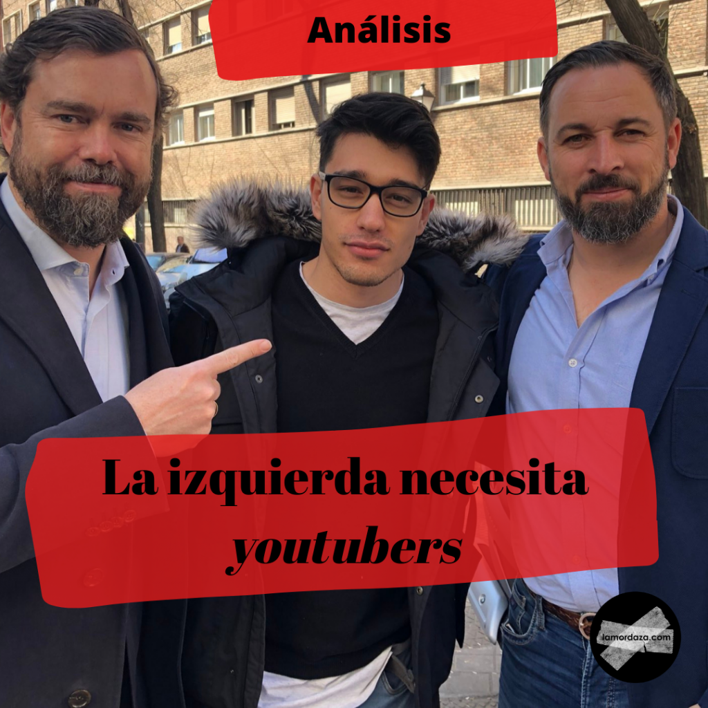 La derecha youtuber